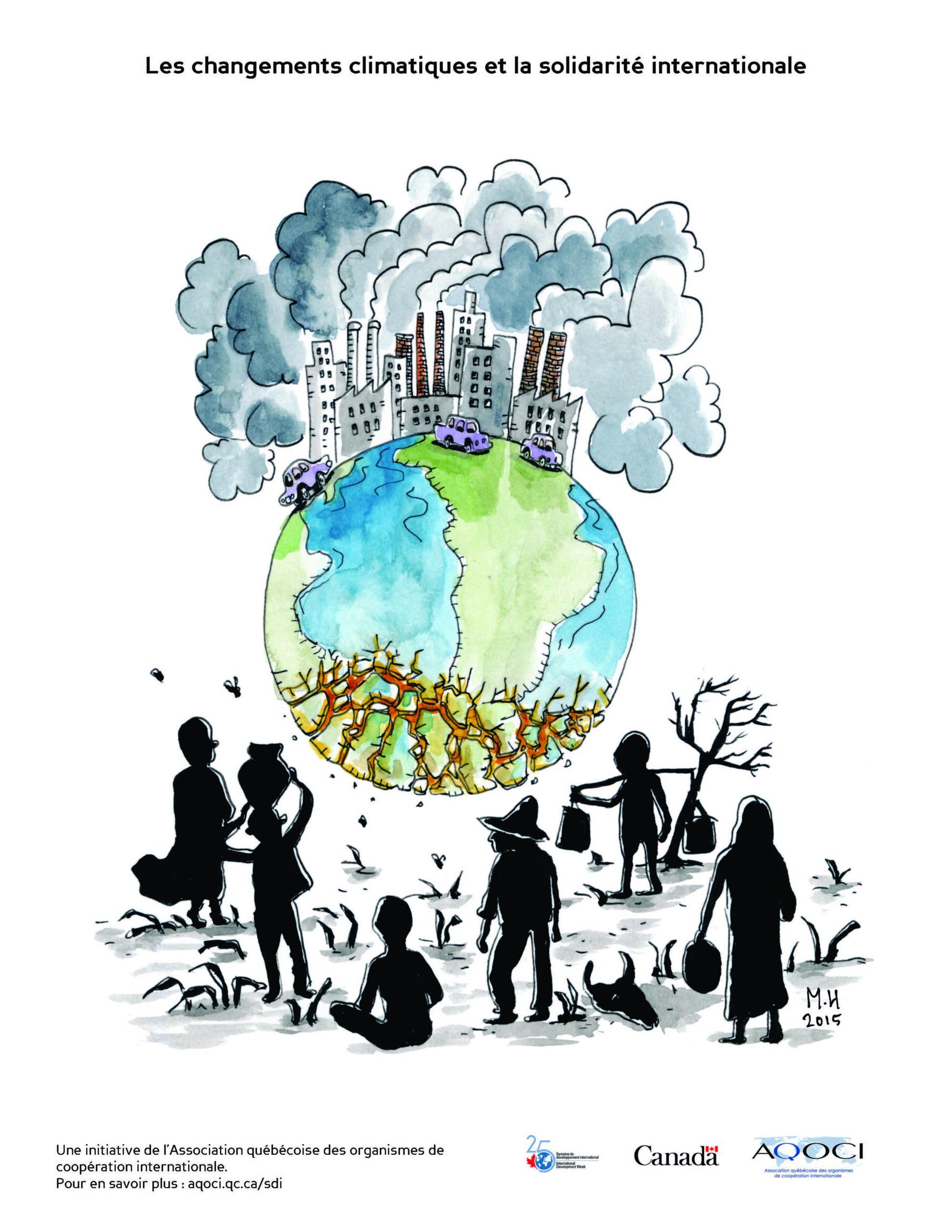 BD - Les changements climatiques et la solidarité internationale - Haute résolution