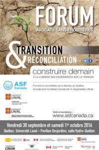 Forum Avocats sans frontières
