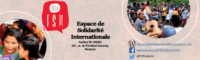 Espace solidarité internationale