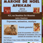 Marché de Noël africain 2016
