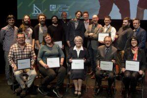 Photo des lauréats