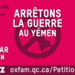 Yémen - Pétition