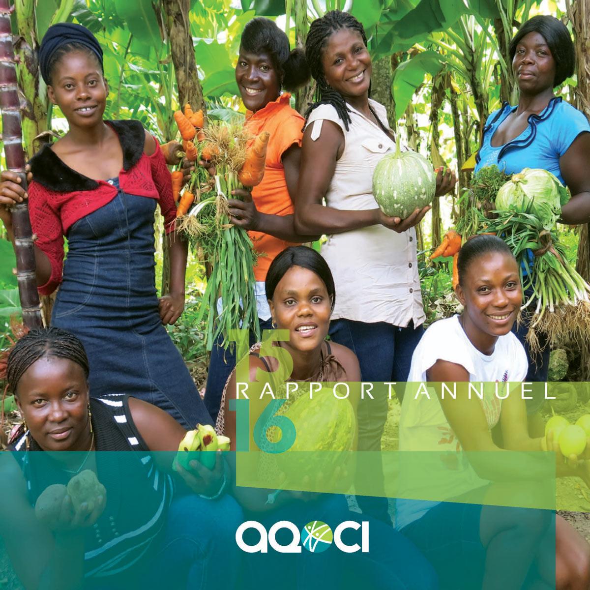 Rapport annuel de l'AQOCI 2015-2016