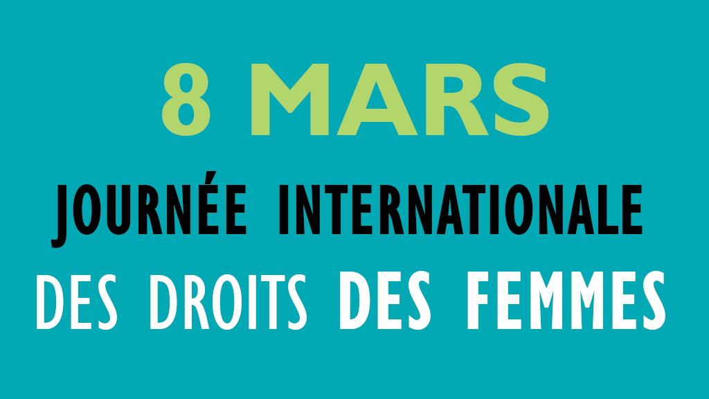 Journee internationaledes droits des femmes