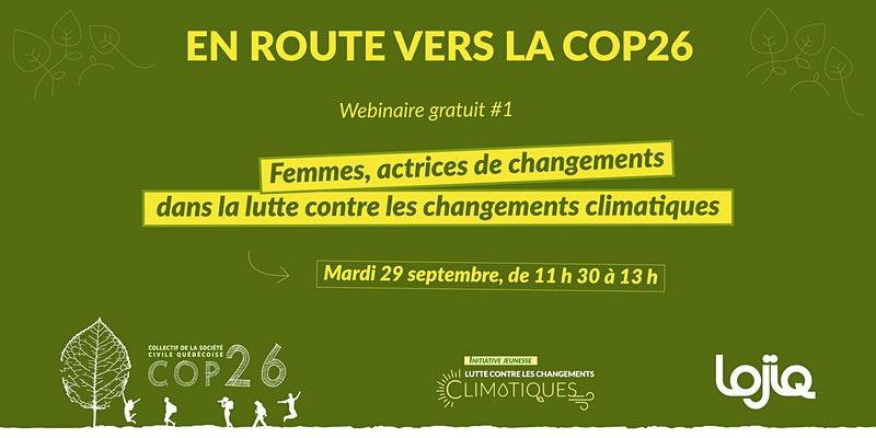 Webinaire COP26