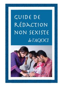 Guide de rédaction non-sexiste