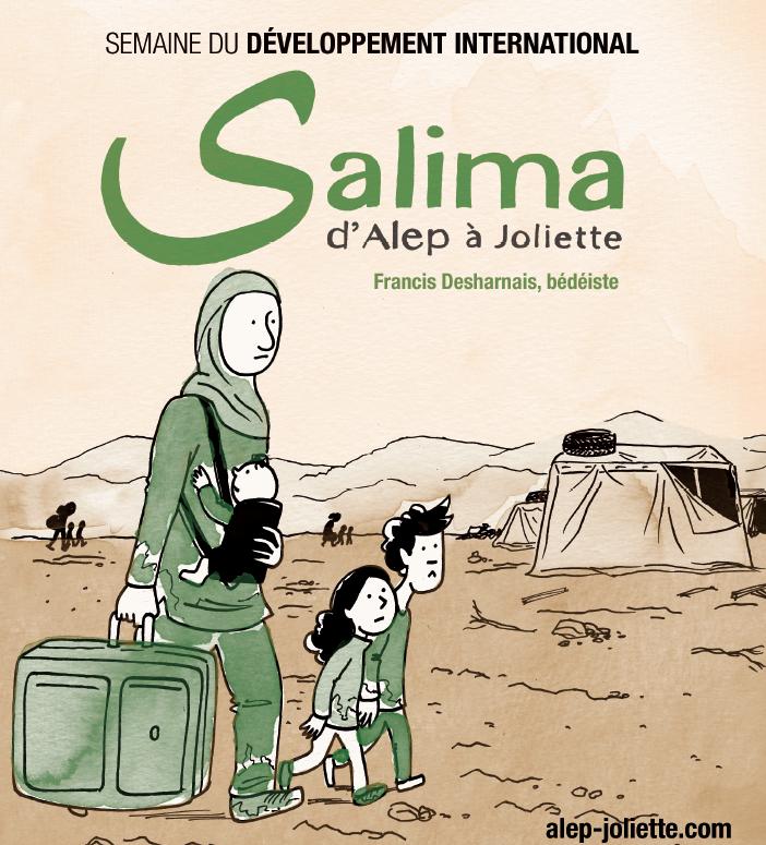 BD «Salima, d'Alep à Joliette». SDI 2016