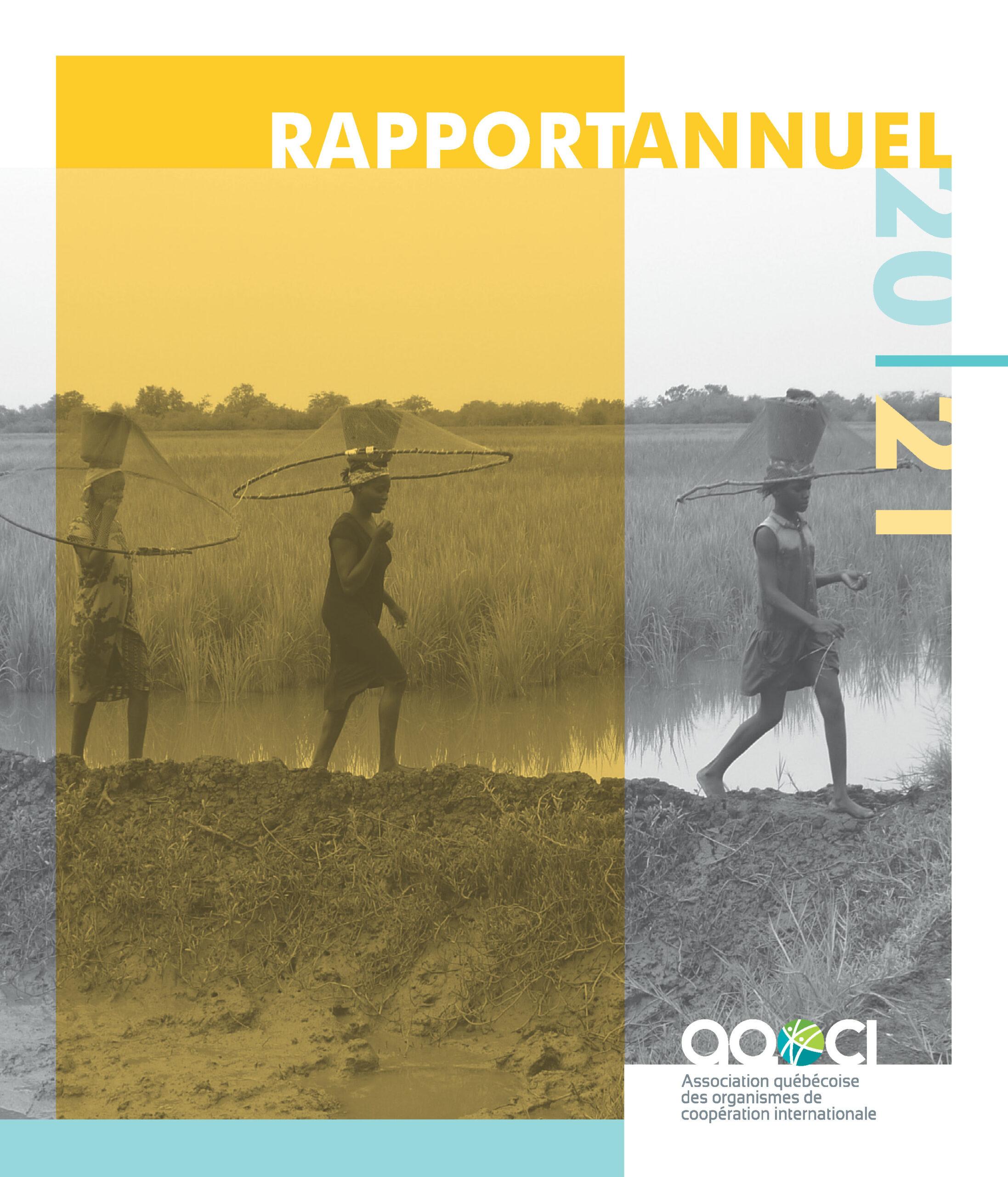 Rapport annuel de l'AQOCI 2020-2021